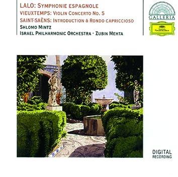 Lalo: Symphony espagnole / Vieuxtemps: Violin Concerto No.5 / Saint-Saëns: Introduction & Rondo capriccioso