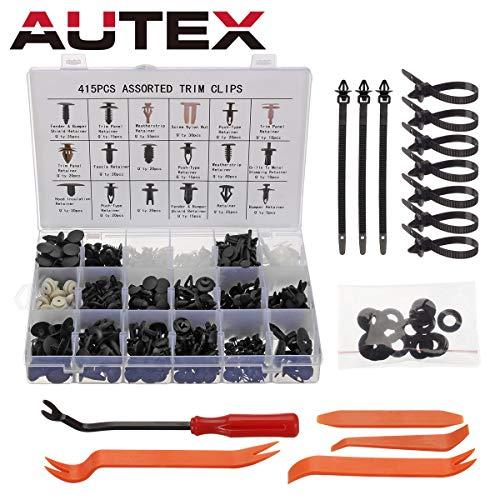 AUTEX 1Pcs Rear Axle Mounted ABS Wheel Speed Sensor ALS100 970024 ABS212 ABS314 compatible with Dodge B1500 /& Dakota 1998//Dodge Durango 1998-1999//Dodge Ram 1500 /& 2500 /& 3500 Pickup 1998-2001