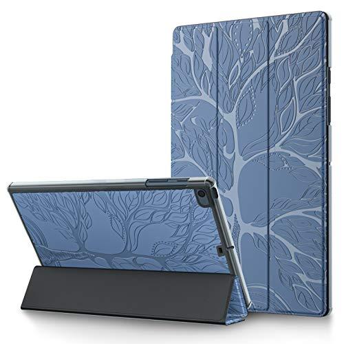 L&Btech Funda para iPad Mini de 5ª generación de 7.9 pulgadas, funda ultrafina de piel sintética con función atril y función atril para iPad Mini de 7.9 pulgadas, 1/2/3/4/5, color azul