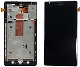 2 Pack - Touch Screen Digitizer and LCD with Frame for Nokia Lumia 1520 - Black