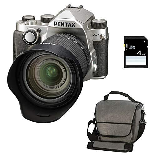 PENTAX KP Silver + 16-85 f/3.5-5.6 ED DC WR + Sac + SD 4Go