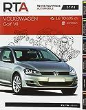E.T.A.I - Revue Technique Automobile 794 - VOLKSWAGEN GOLF VII PHASE 1 - 2012 à 2017