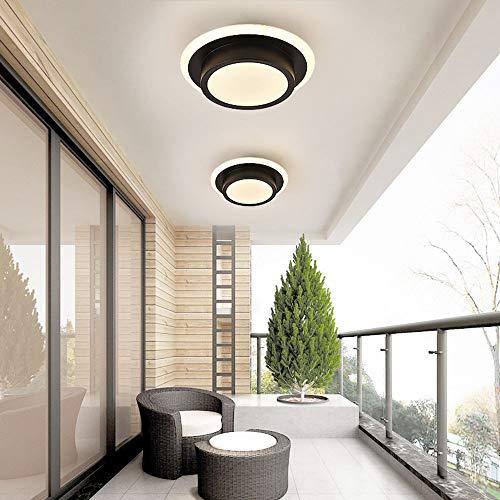 Bradoner Modernas luces de pasillo minimalistas corredor nórdico casa cocina entrada sala de aseo balcón luces led techo