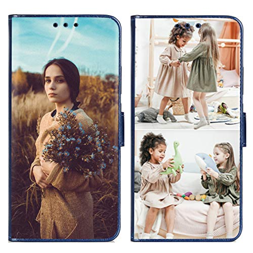 Funda tipo cartera personalizada para iPhone 12 Pro Max 6.7 pulgadas con 1 protector de pantalla para damas, niñas, para mujeres, para madre, para hombres (2 imágenes)