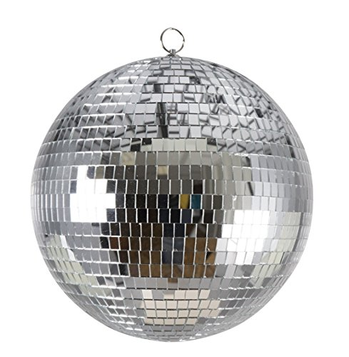 P'TIT Clown re71198 - Grande Boule disco à facettes 30 cm à suspendre