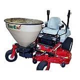 ABONADORA de fertilizante y de sal eléctrico turfex ts200ztr–68kg