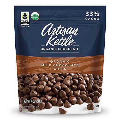 Artisan Kettle Organic Milk Chocolate Chips, 10 Oz