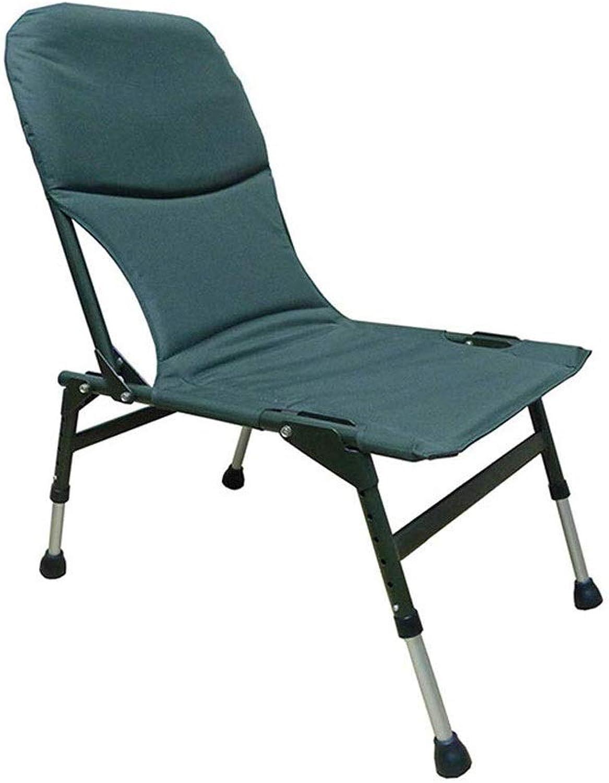 LZRDZSW Klappbare Campingstühle Schwere Lendenrückenstütze übergroe Vierersessel Gepolsterte Klappstuhl Klappstuhl Tragbare Camping Stuhl Outdoor Stuhl Hocker