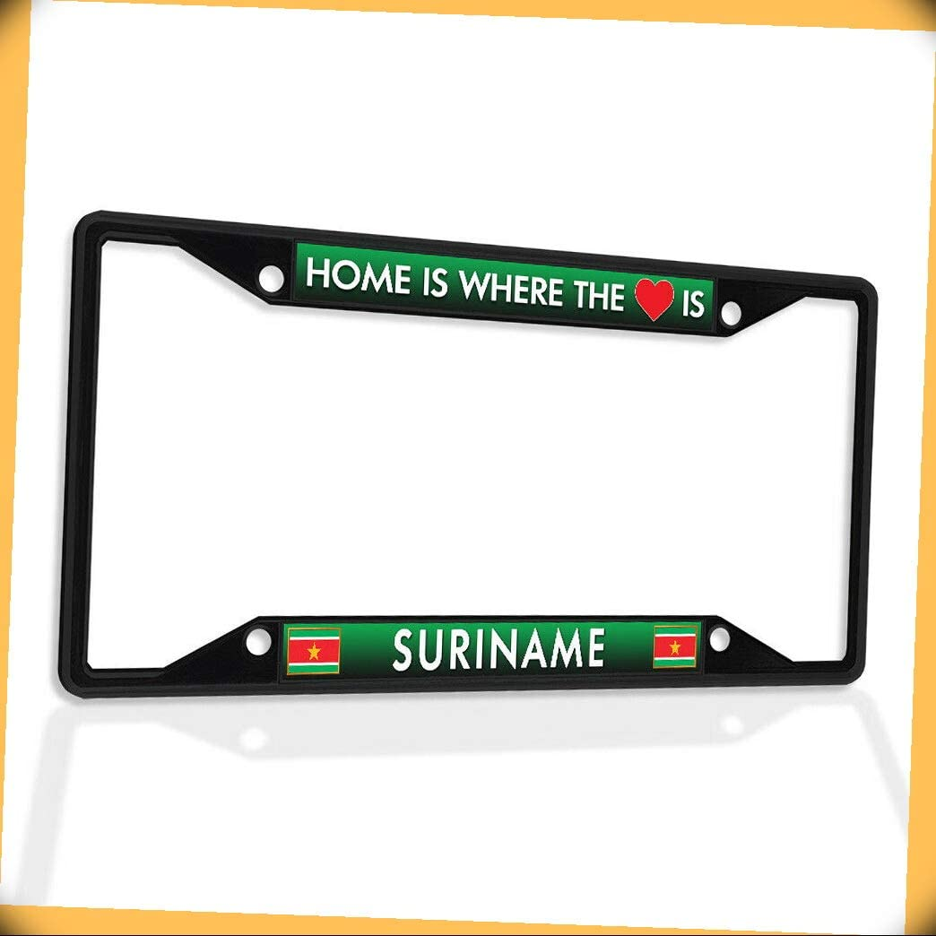 Selling and selling New Metal Aluminum Alloy Black B4K Ho Be super welcome Frame Plate Insert License