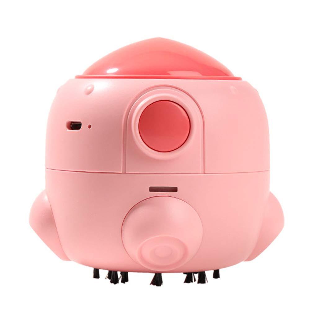 Heerda Aspiradora de Mesa Eléctrica Mini Limpiador de Polvo, Lindo Mini USB Limpiador de Polvo Aspiradora de Mesa,Mini Limpiador de Polvo: Amazon.es: Hogar