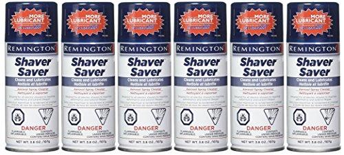 Remington Shaver Saver Aerosol spray Cleaner, Model SP-4 3.8 oz (Quantity of 6)
