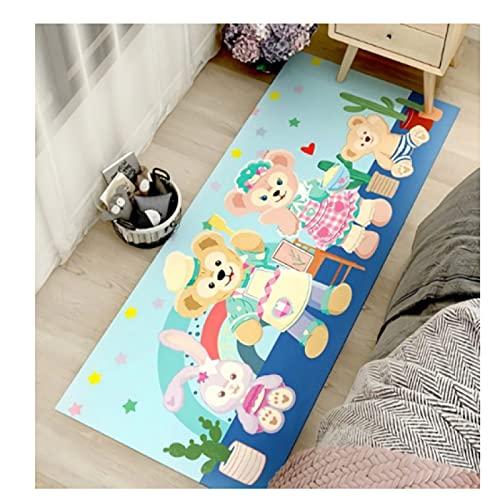maishi Lange Teppiche Kinderzimmer Spielküche Wohnzimmer Bodenmatte Cartoon Bär Kaninchen Nachtbett Bad Flur Baby Crawl Home Decor Mädchen Geschenk