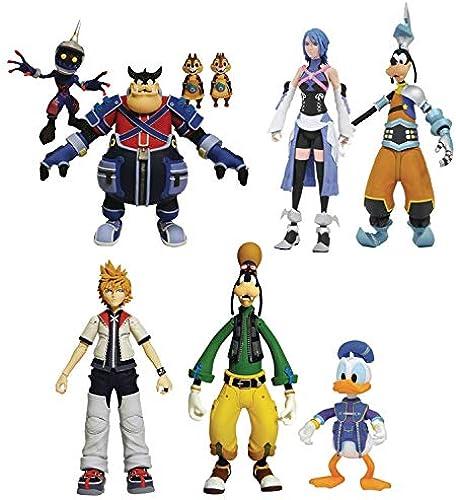 Kingdom Hearts Select Action Figures 18 cm Packs Series 2 Assortment (6) Diamond