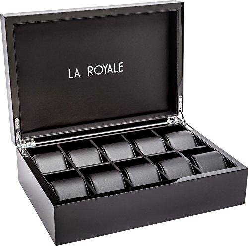 LA ROYALE Felice XL Montres Box Boîte de Conservation pour 10 Montres