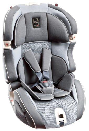 Kiwy 14103KW02B Child Car Seat Group 1/2/3with Isofix 9-36kg Stone