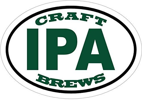 ION Graphics Magnet Beer - India Pale Ale Craft Brew Beer Vinyl Magnet - IPA Vinyl Magnet - IPA - Beer Gift - Made in The USA Size: 4.7 x 3.3 inch