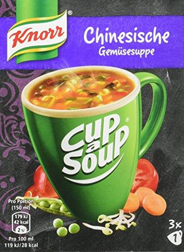 Knorr Cup a Soup Chinesische Gemüse Instant Suppe (12 x 3 Tassen)