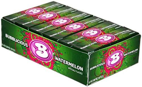 BUBBLICIOUS Watermelon USA 18 x 5 stuks