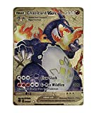 Charizard VMAX Pokémon Gold Card - Collector's Rare Shiny Gold Purple - Limited Supply