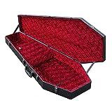 COFFIN CASES Model G-185R Electric Guitar Case Red Velvet Interior
