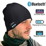 EVERSEE Bluetooth Mütze Männer & Frauen Geschenke, Bluetooth Mütze mit Bluetooth 5.0 Kopfhörern,...