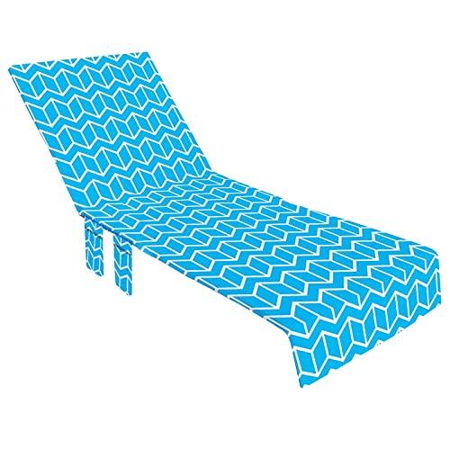 PERFECTHA Handtuch Für Liegestuhl Strandkorb Handtuch Lounge Chair Cover Strandhandtuch Liegenbezug Strandtuch Hautsympathisch Saugfähig Schnelltrocknend Fabulous
