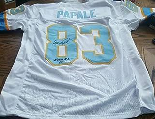 Rare Philadelphia Bell Autographed Signed Memorabilia Eagles Vince Papale Invincible Jersey JSA Wfl