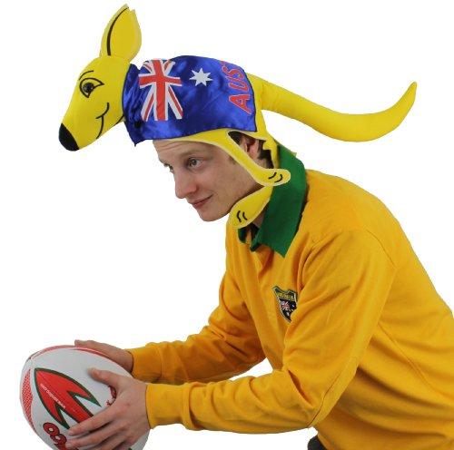 I Love Fancy Dress, sombrero para los aficionados del canguro australiano ILFD2018, una talla apta para la mayora de la gente.