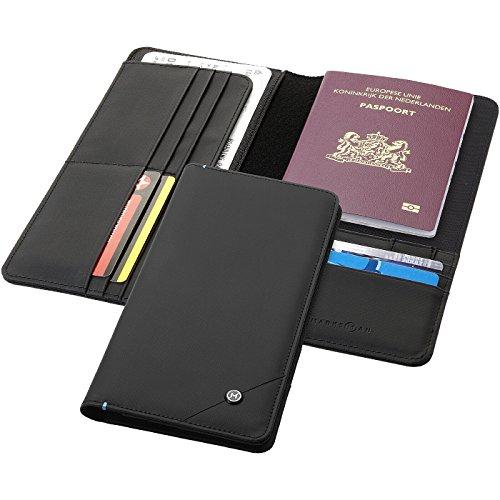 MARKSMAN Portafoglio da viaggio RFID