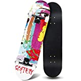 Product Image of the ANDRIMAX Skateboards-Complete Skateboards for Beginners Kids Boys Girls Adults...