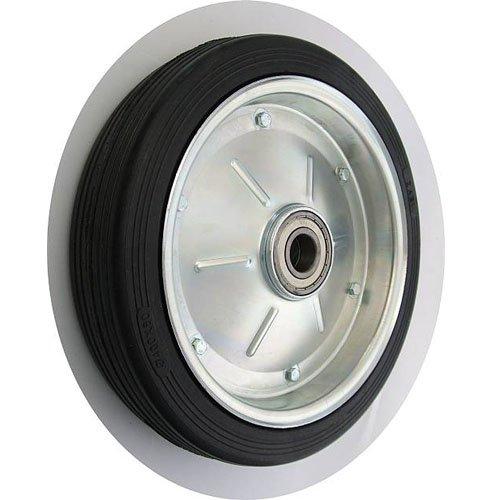 ZAB-S Rad (Code:400LL/35) mit Vollgummireifen Ø 400mm Gummiräder Gummirad Industrierad (400LL/35/Ø400/BR35)
