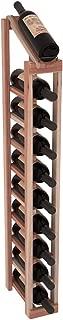 Wine Racks America Redwood 1 Column 10 Row Display Top Kit. Unstained
