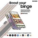 Samsung Galaxy S21 5G Smartphone SIM Free Android Mobile Phone Phantom Grey 128GB, (UK Version)