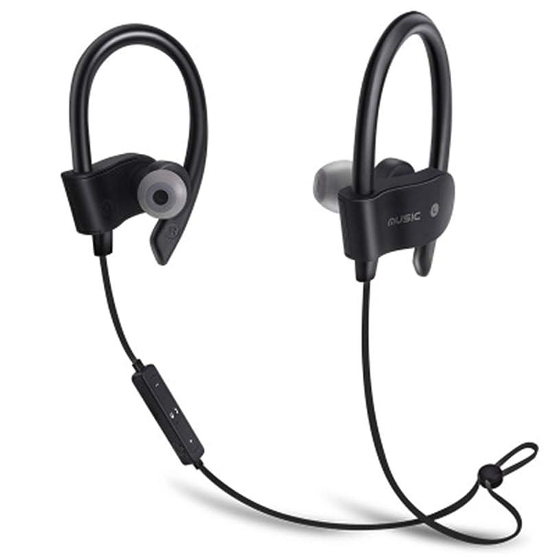 雇う区弾薬耳を持つイヤホン、ワイヤレス無線スポーツベース音楽ヘッドフォンマイクワイヤレススポーツヘッドセット