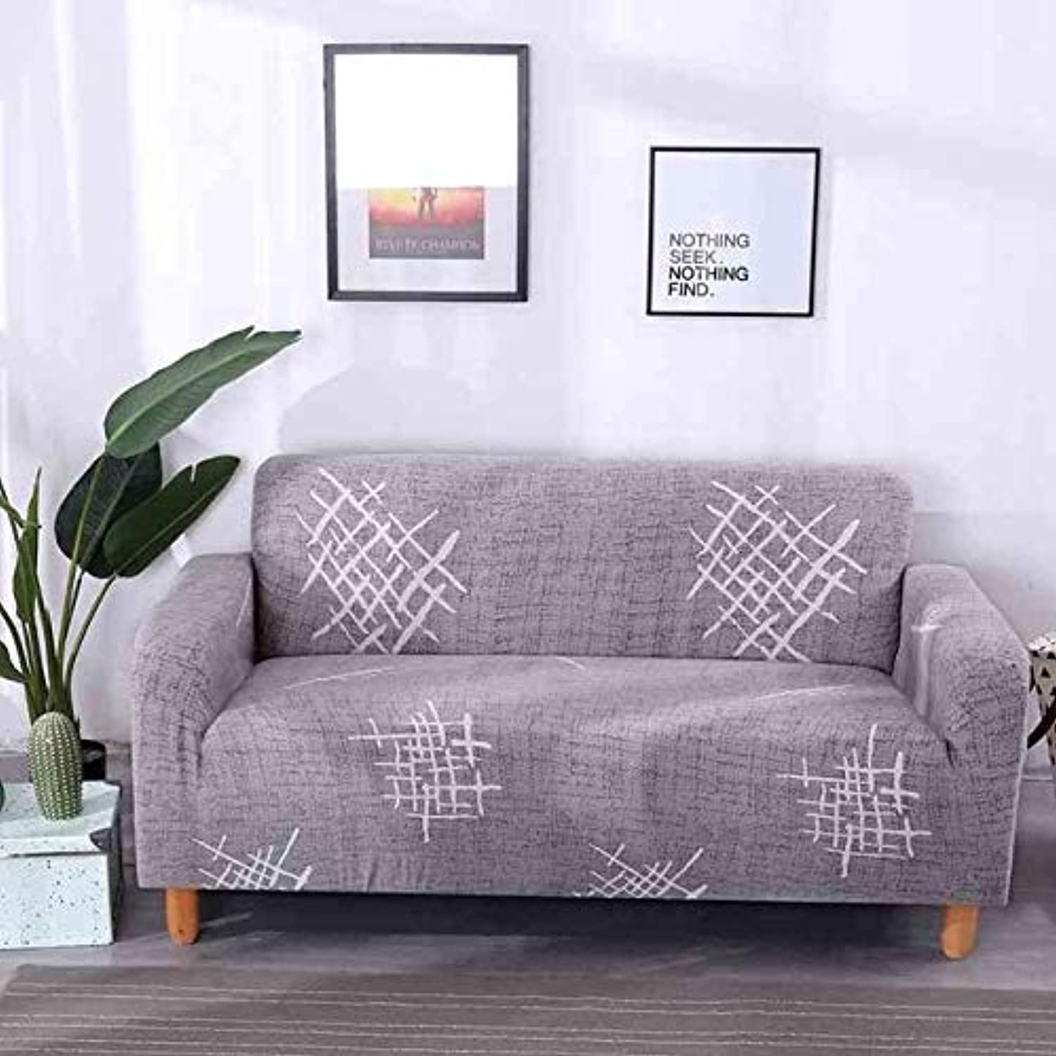 Modern Style Printed Sectional Sofa Cover 1pc One Two Four Seat ...