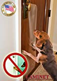 LAMINET The Original Deluxe Dog Scratch Shield - Protect Your Doors & Walls with Our Deluxe Heavy-Duty Flexible Plastic Dog Scratch Shield - (36L x 16W - INCHES)