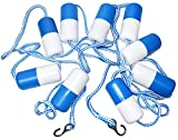 Fibropool Pre-Assembled Safety Rope & Float, 20' Pool Size