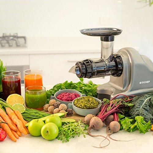 Slow Juicer – Kaltpress Entsafter für Gemüse und Obst Bild 6*