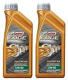 Castrol Edge Titanium Fst 10W-60 Supercar Olio lubrificante Motore per Auto Sintetico, conezione da 2 Litri (Formula migliorata con Titanium Fst ™)