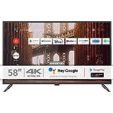INFINITON INTV-58AF2300 – Televisor Smart TV 58' 4K UHD – Android 9.0 – Google Assistant – HBBTV – 4X HDMI – 3X USB - DVB-T2/C/S2 - Modo Hotel – Clase A+
