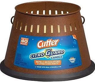 Cutter 95784 Citro Guard Citronella Candle, 20-Ounce, Copper