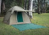 Alpha Kilo 4000 Canvas 6 Person Bow Tent, Camping...