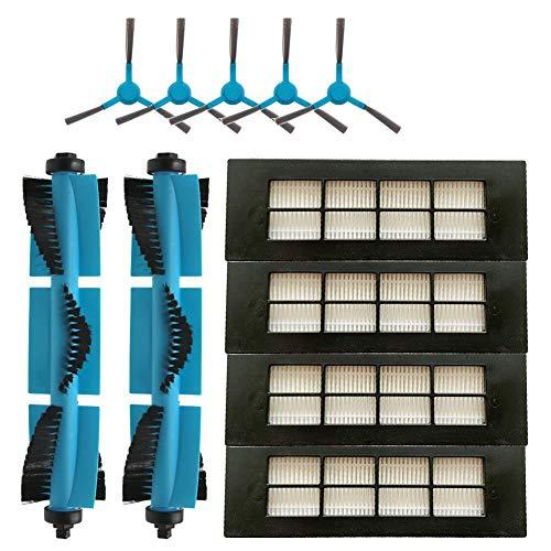 Dasorende Robot Aspirador Cepillo Principal del Filtro HEPA Cepillo Lateral para Conga 3090 Series Accesorios de Piezas de Filtro de Aspiradora RobóTica