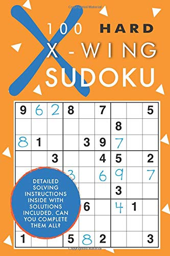 100 Hard X-Wing Sudoku
