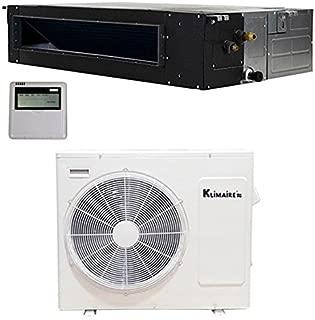 Klimaire 24,000 Btu 20 SEER Ductless Mini Split Recessed Coil Heat Pump System - 208-230V KSIE024-DIP24-H2 (25FT Lineset Kit)
