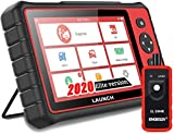 LAUNCH OBD2 Scanner CRP909E Full Systems Scan Tool Automotive Scanner 15 Reset Functions Code Reader WiFi Free Update,7' Touch Screen, Android 7.1,Auto VIN, Print Data Report - EL-50448 Tool as Gift