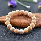 BIJOUX Bracelet en pierre, bracelet de motif en bois brun clair 8 Bracelets de pierre multiculturels perlés bracelets extensibles pour femmes hommes vêtements personnalisés accessoires se joindre à l