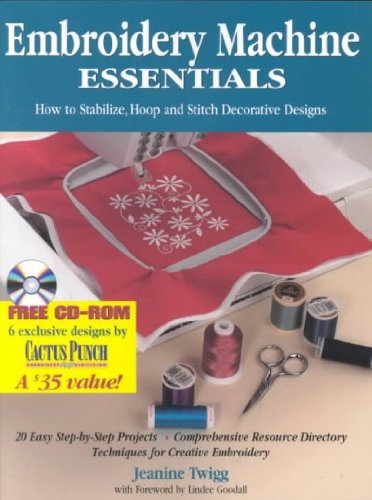 Best Bargain Embroidery Machine Essentials: How to Stabilize, Hoop and Stitch Decorative Designs