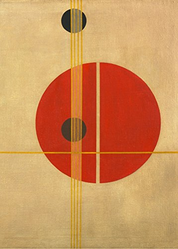 World of Art Global László Moholy-Nagy 'Q1 Suprematistic' 1923. 250 g/m², glänzend, Kunstdruck, A3, Reproduktion