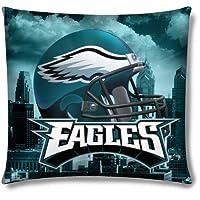 Northwest Philadelphia Eagles Real Photo Throw Pillow